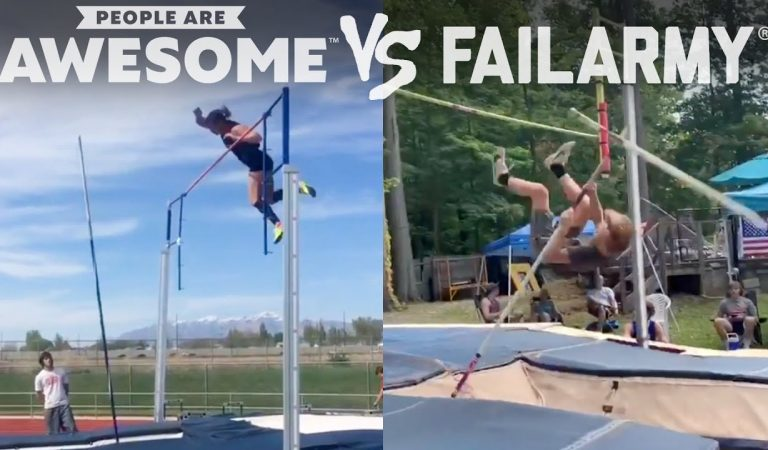 Compilação de People Are Awesome versus Fail Army